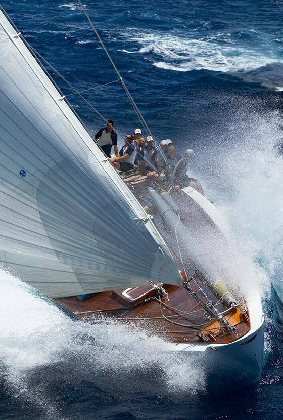 Mega Yacht Rigging