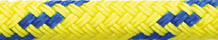 Dinghy Tow Rope Yellow with Blue Fleck