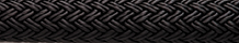 Double Braid Nylon Black