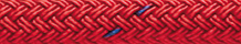 Double Braid Nylon Red with Tracer