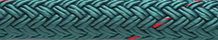 Double Braid Nylon Teal with Tracer
